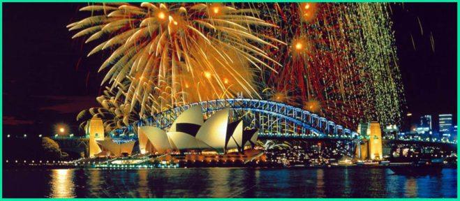 Amazing Firworks in Sydney
