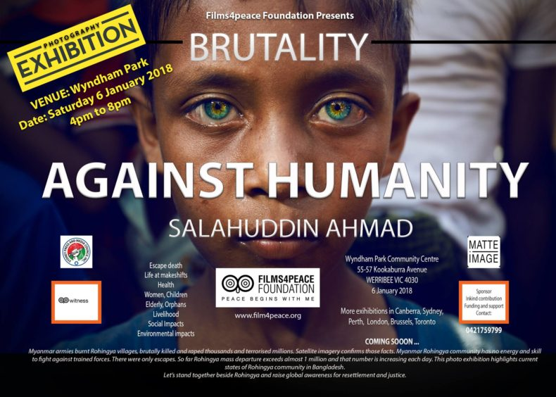 Photo Exhibition: Brutality Against Humanity || Melbourne